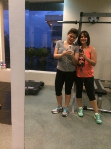 I even manage to make time to go to the gym when on holidays. This was in Bacolod, Philippines September 2014.